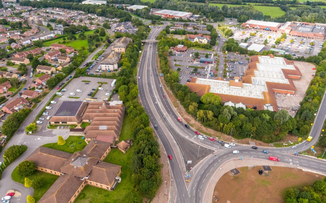 Opening of the Nexus link road for Taunton's M5 Junction 25 welcomed